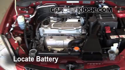 2005 Mitsubishi Lancer ES 2.0L 4 Cyl. Battery